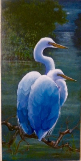 Oil on Canvas 24 x 14