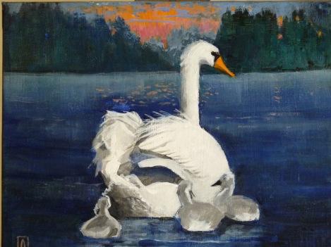 Oil on Canvas, 8 x 10