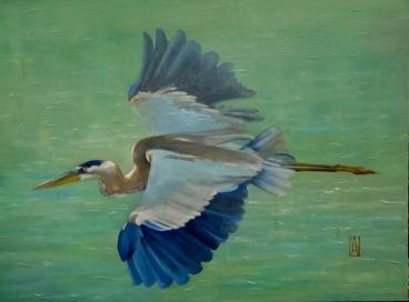 Oil on canvas, 18 x 24