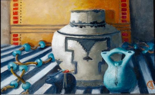 Oil on canvas,